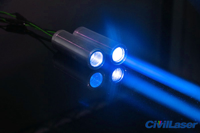 Blue stage laser thick 450nm 100mw laser module Bar laser